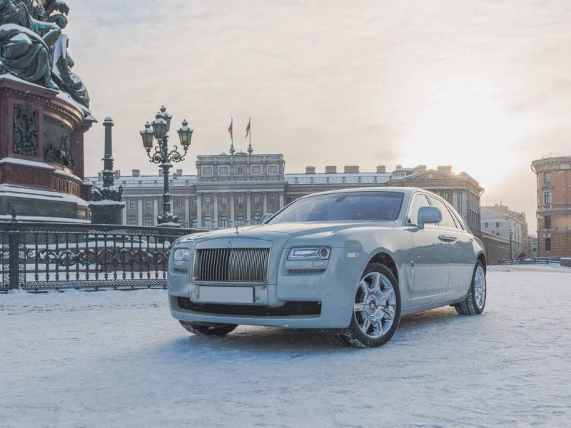 Rolls-Royce Ghost White - фото 1