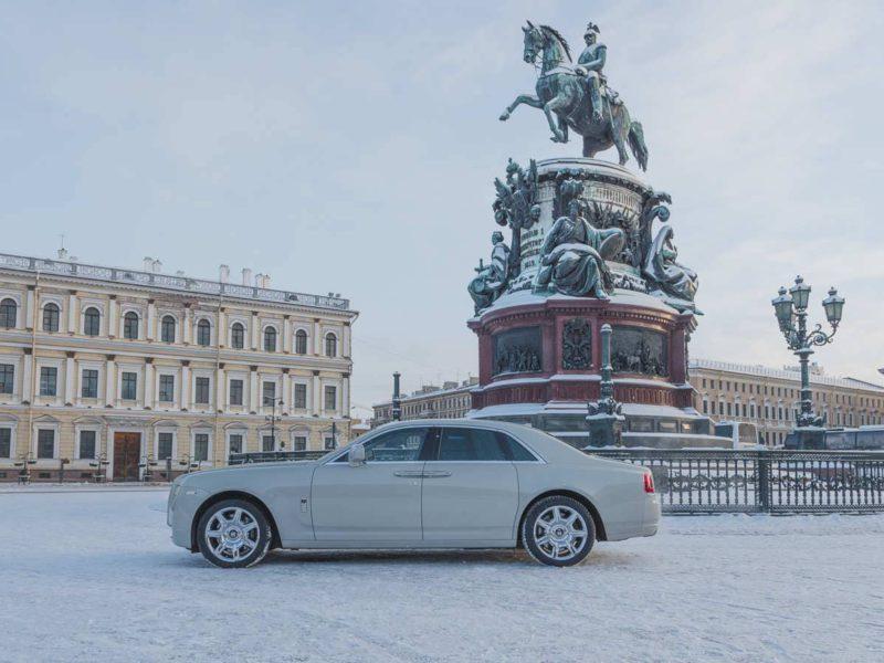 Rolls-Royce Ghost White - фото 3