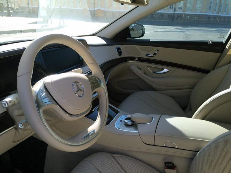 Mercedes W222 - фото 5