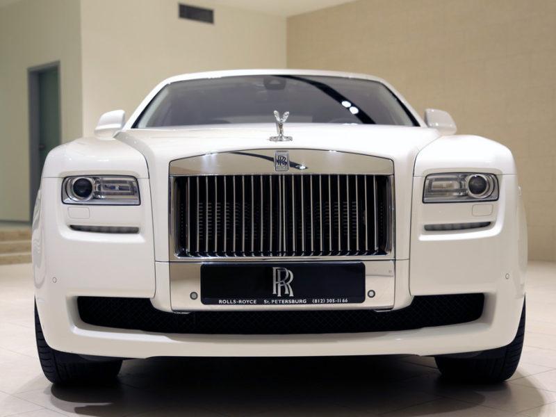 Rolls-Royce Ghost White - фото 1