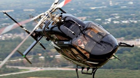 Аренда вертолета в СПБ с пилотом