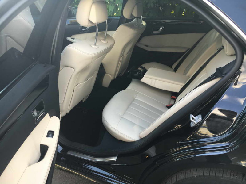 Mercedes W212 — Black - фото 8