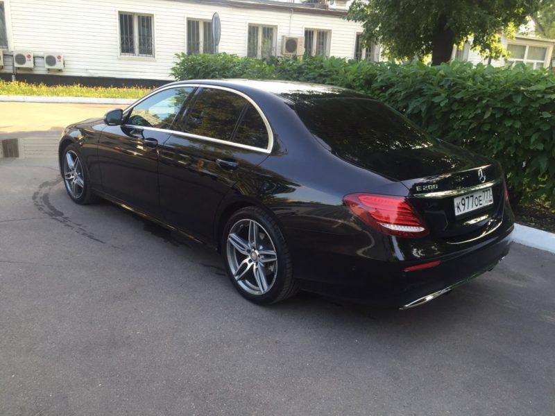 Mercedes W213 - фото 1
