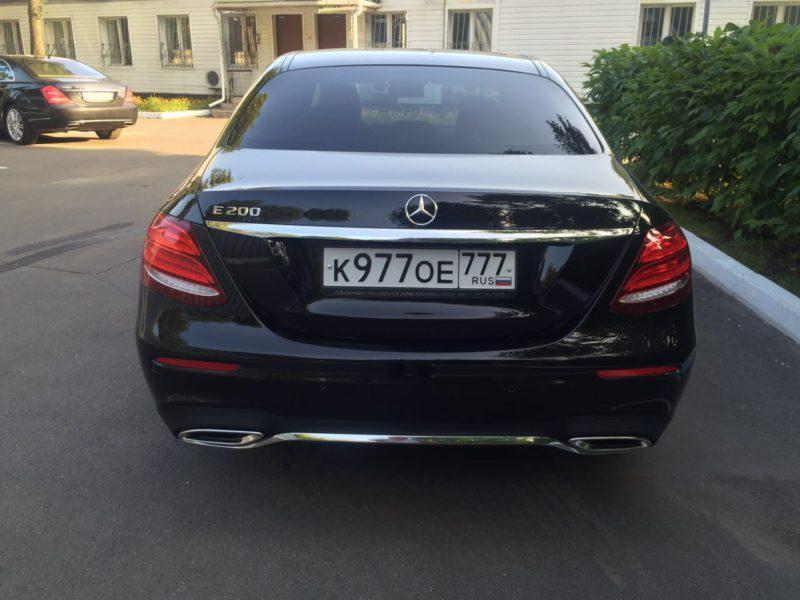 Mercedes W213 - фото 7