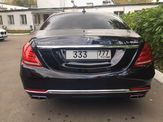 Mercedes W222 Maybach — Black - фото 3