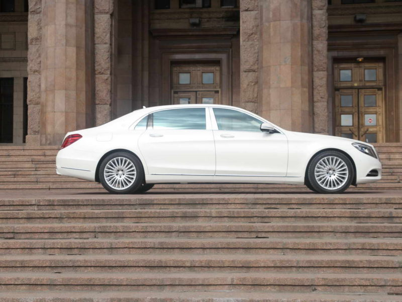 Mercedes W222 Maybach - фото 7