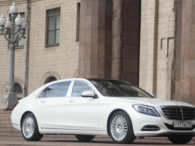 Mercedes W222 Maybach - фото 8