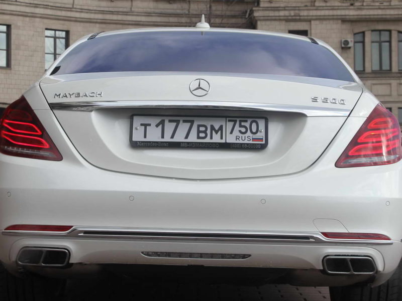 Mercedes W222 Maybach - фото 10