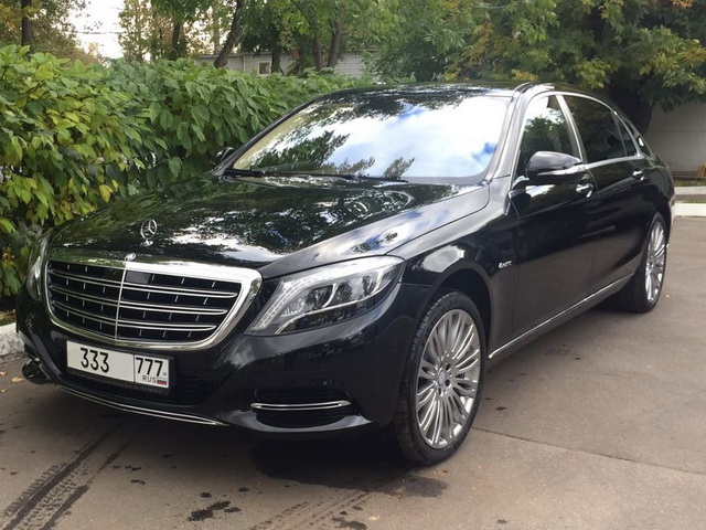 Mercedes W222 Maybach — Black - фото 1