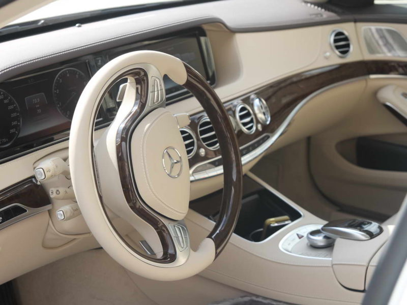 Mercedes W222 Maybach - фото 6