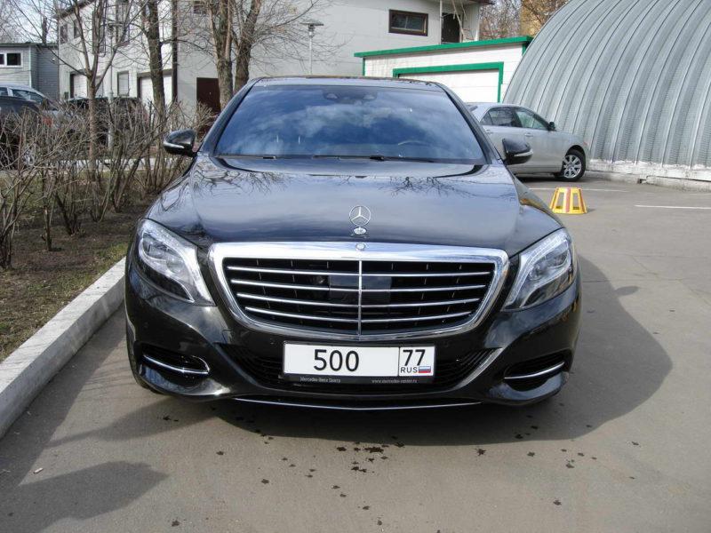 Mercedes W222 — Black - фото 1
