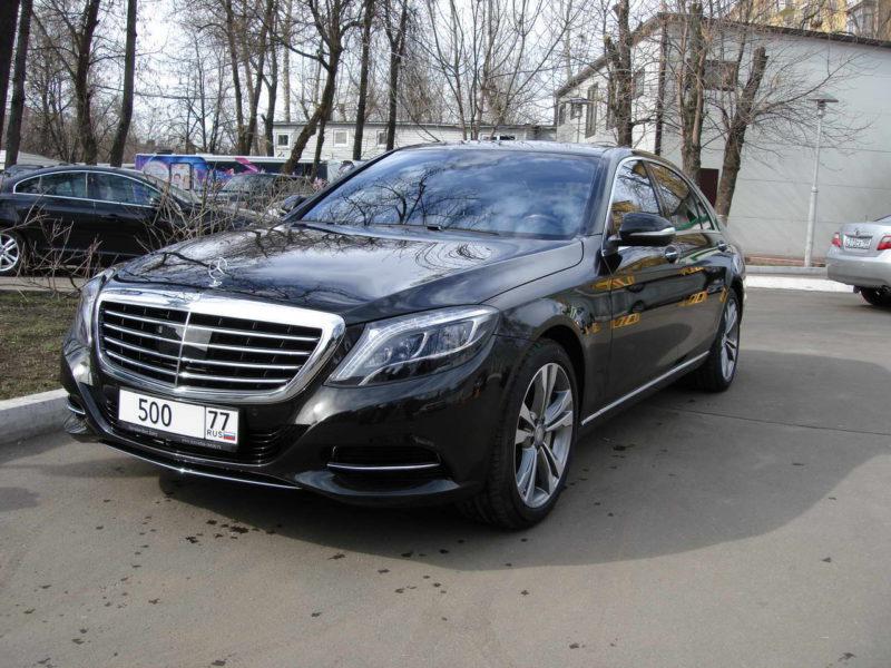 Mercedes W222 — Black - фото 8