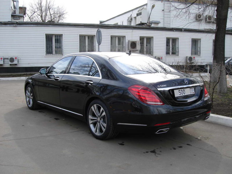 Mercedes W222 — Black - фото 7