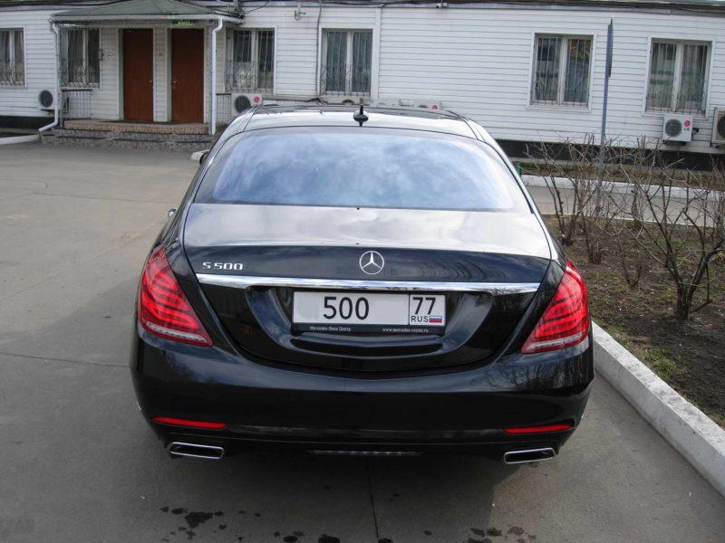 Mercedes W222 — Black - фото 6