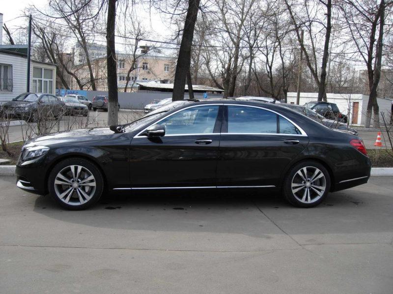 Mercedes W222 — Black - фото 5