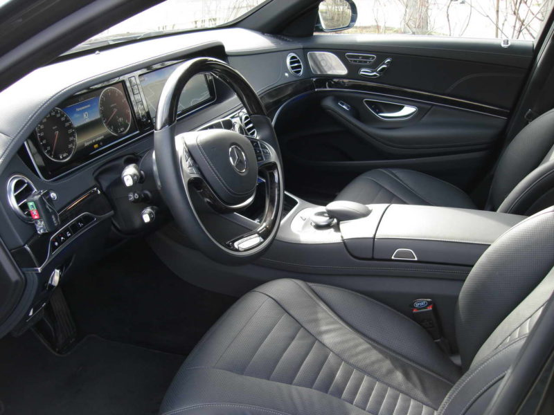 Mercedes W222 — Black - фото 4