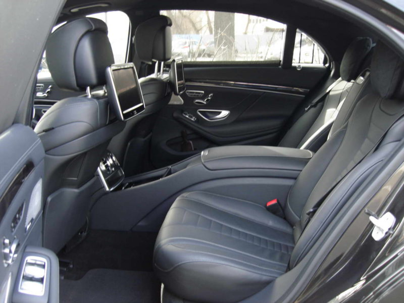 Mercedes W222 — Black - фото 3
