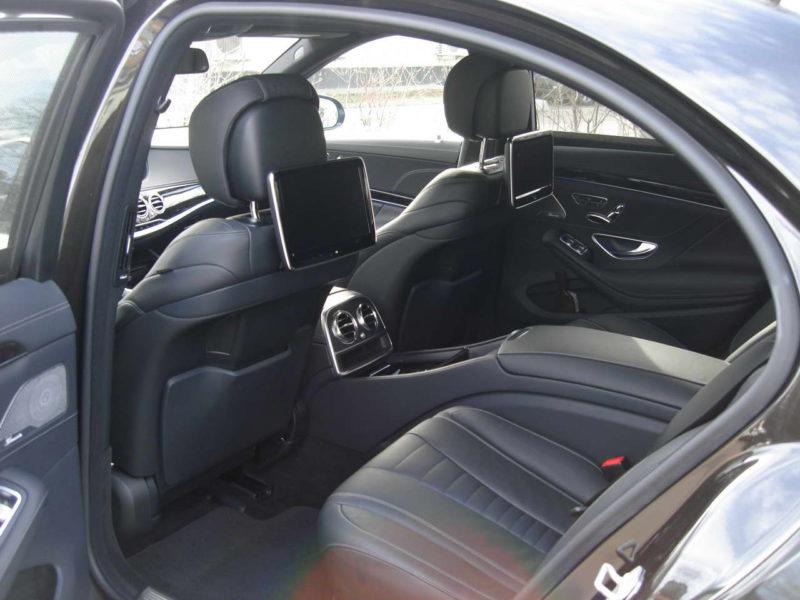 Mercedes W222 — Black - фото 2