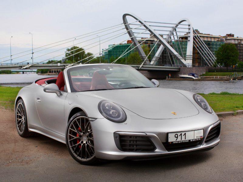Porsche Carrera 4S Cabriolet - фото 1