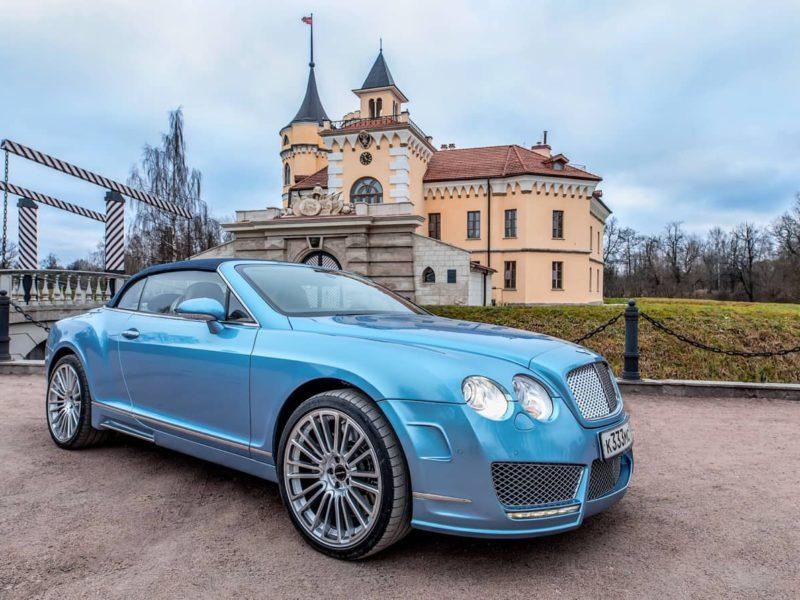 Bentley Continental GTC - фото 1