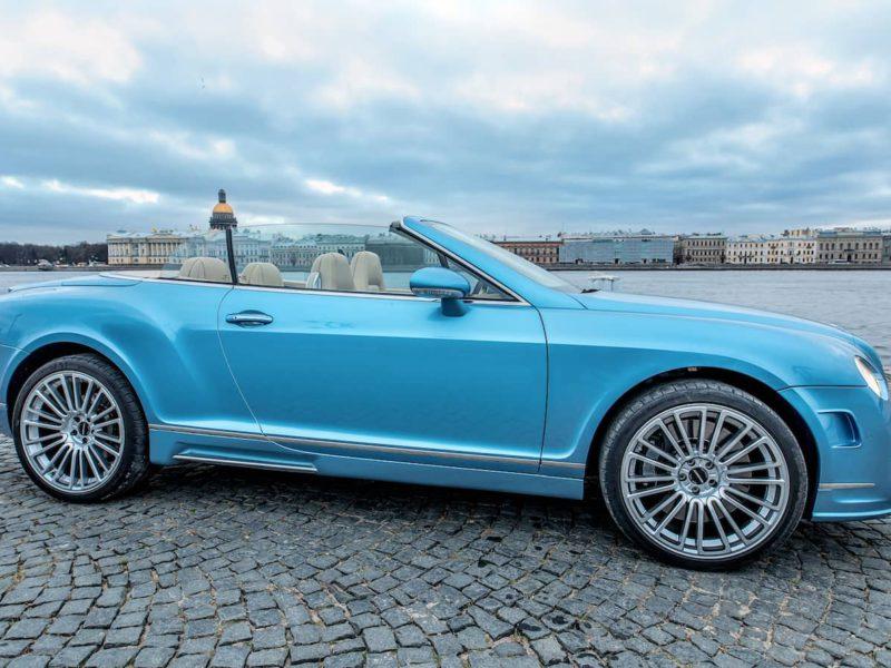 Bentley Continental GTC - фото 8