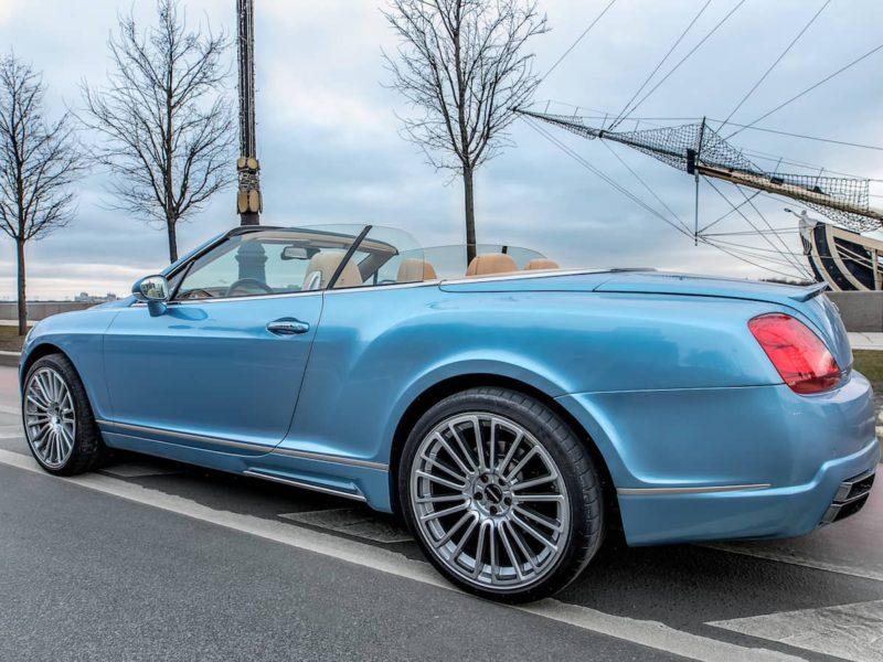 Bentley Continental GTC - фото 9