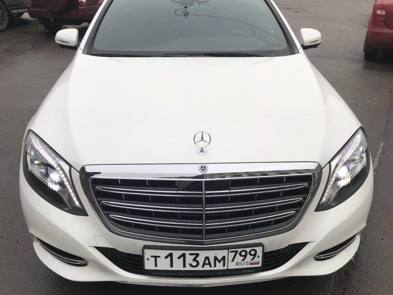 Mercedes W222 Maybach — White - фото 1