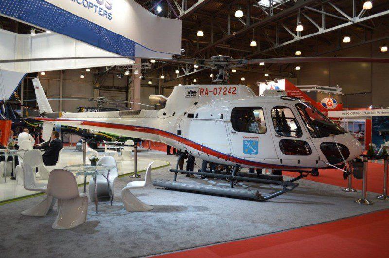 Вертолет Eurocopter AS355 - фото 2