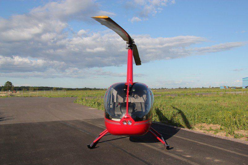 Вертолет Robinson R44 - фото 1