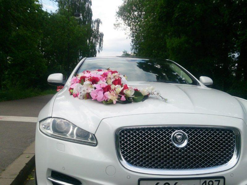 Аренда украшений для свадебного автомобиля - фото 4