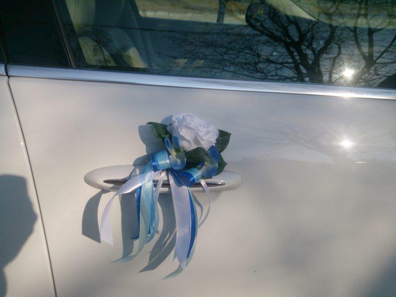 Аренда украшений для свадебного автомобиля - фото 1