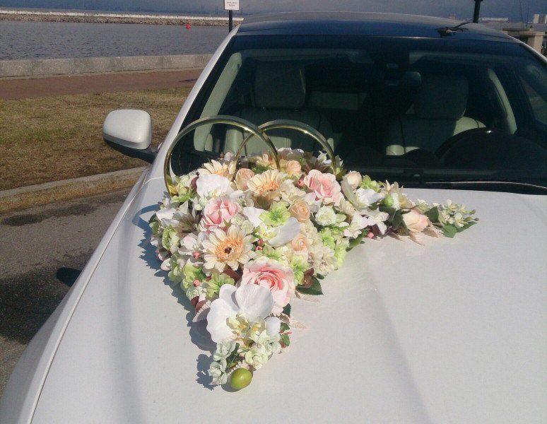 Аренда украшений для свадебного автомобиля - фото 2