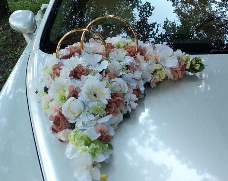 Аренда украшений для свадебного автомобиля - фото 3