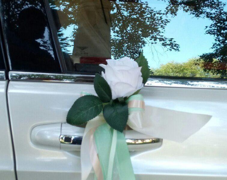 Аренда украшений для свадебного автомобиля - фото 6