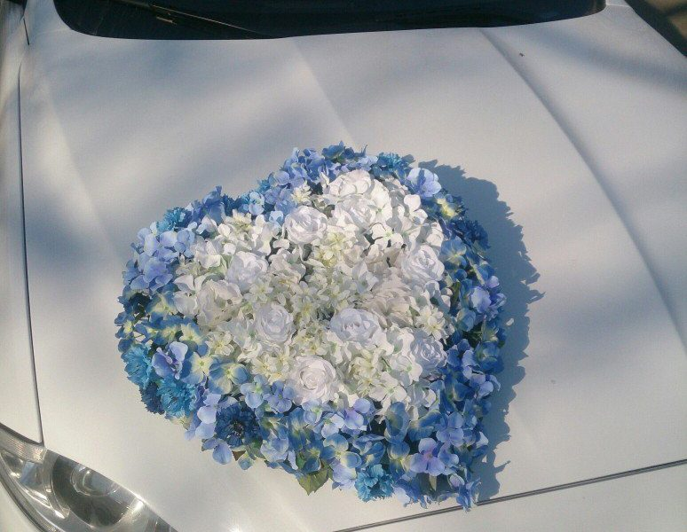 Аренда украшений для свадебного автомобиля - фото 8