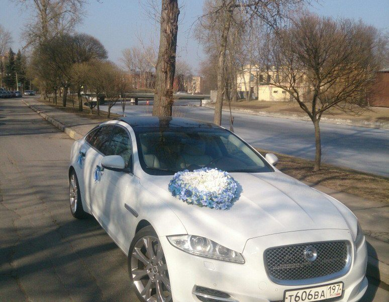 Аренда украшений для свадебного автомобиля - фото 9