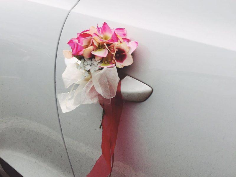 Аренда украшений для свадебного автомобиля - фото 11
