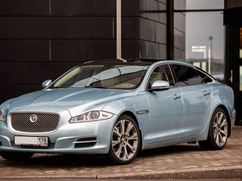 Jaguar XJ Blue - фото 3