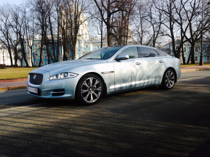 Jaguar XJ Blue - фото 2