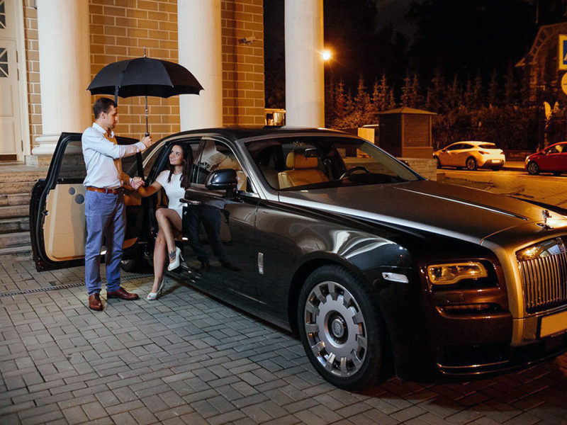 Rolls-Royce Ghost Black - фото 1