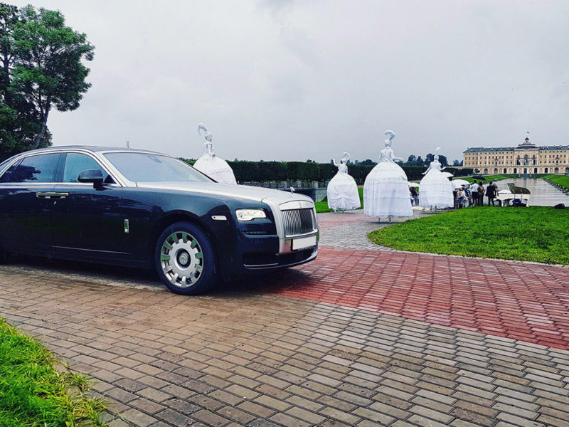 Rolls-Royce Ghost Black - фото 3