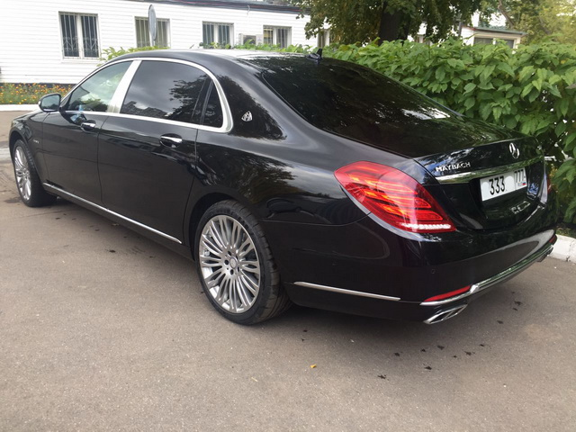 Mercedes W222 Maybach — Black - фото 2
