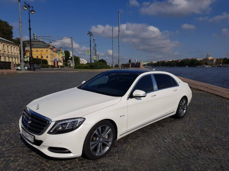 Mercedes W222 Maybach — White - фото 1