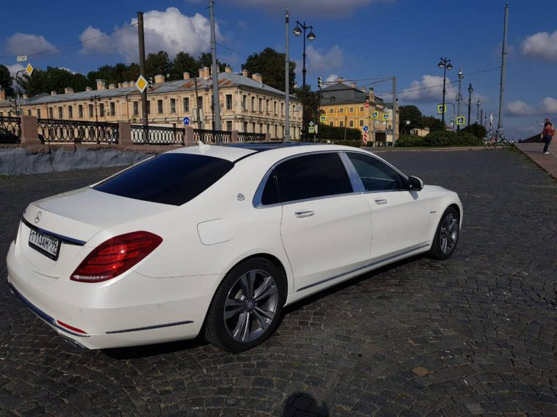 Mercedes W222 Maybach — White - фото 2