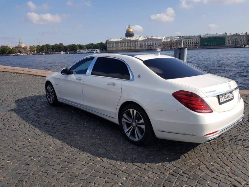 Mercedes W222 Maybach — White - фото 3